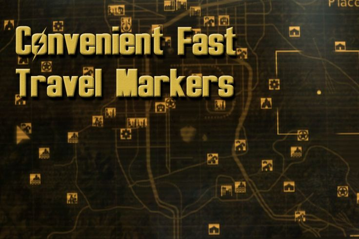 Convenient Fast Travel Markers at Fallout New Vegas - mods and community