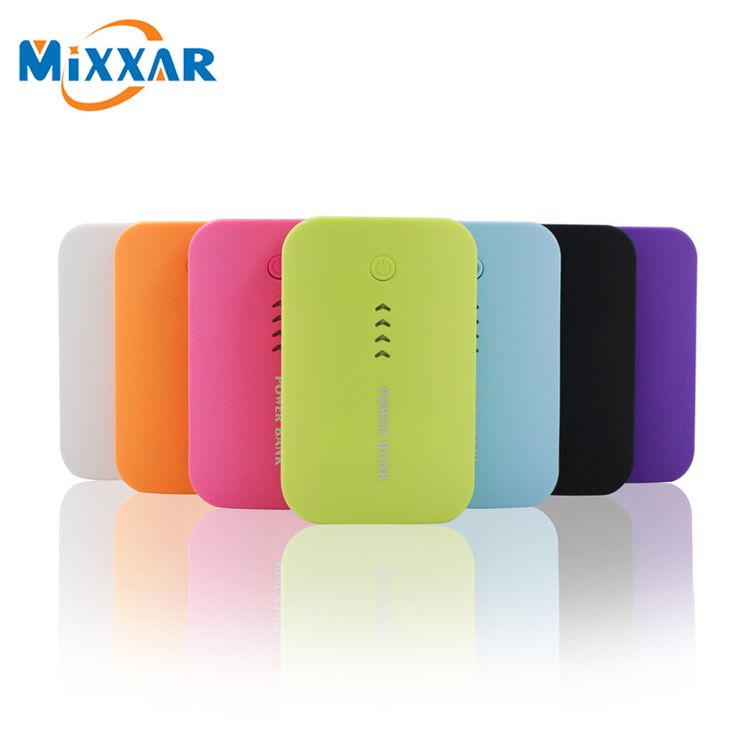 Mixxar Double USB 6600mAh Power Bank External Mobile Backup Battery Powerbank Portable Charger For Mainstream Smartphone
