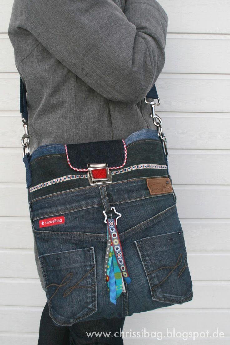 1000 bilder zu taschen n hen auf pinterest jeans tasche taschen und anleitungen. Black Bedroom Furniture Sets. Home Design Ideas