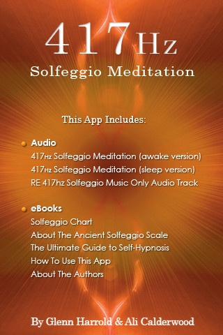 417hz Solfeggio Sonic Meditation by Glenn Harrold and Ali Calderwood iPhone and iPad app by Diviniti Publishing Ltd. Genre: Health and Fitness application. Price: $4.99. http://click.linksynergy.com/fs-bin/stat?id=gtf1QuAg8bk=146261=3=0=1826_PARM1=http%3A%2F%2Fitunes.apple.com%2Fapp%2F417hz-solfeggio-sonic-meditation%2Fid491618203%3Fuo%3D5%26partnerId%3D30