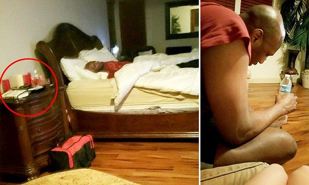 Lamar Odom pictured passed out on brothel bed hours before he overdosed | Daily Mail Online