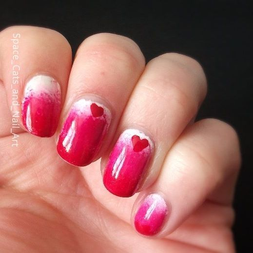 Day 1 of the #31daynailartchallenge   Red: valentines red gradient nail art    Brushes - @shopnaileditnz  Skin protector -BORN PRETTY Odor-free Peel Off Nail Latex Cuticle Guard Manicure Nail Art Liquid Tape  Top coat - Maxfactor Glossfinity 05 top coat  Top coat - Orly sec n dry  White nail striper - LA colors art deco#projectpolish  Bright pink -modelsprefer#projectpolish  Red - Natio nail colour - scarlet#projectpolish  Base coat - Sally Hanson nail Rehab    #31DC2017