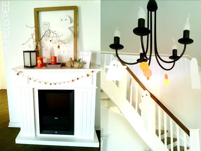 Die besten 25+ Halloween kaminsims Ideen auf Pinterest Gruselige - halloween deko wohnzimmer