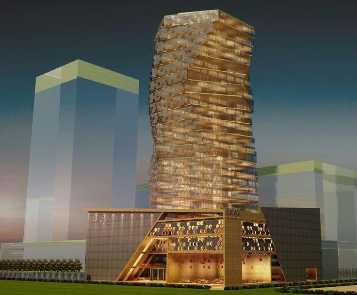 Office building architecture design