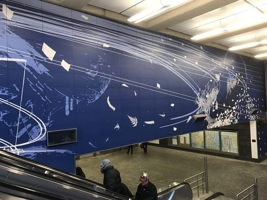 Second Avenue Subway Art – New York, New York - Atlas Obscura