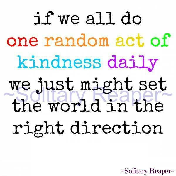 examples of kindness Examples of kindness 778 likes this page will highlight stories in the press, videos or photos of acts of kindness let it be an example and inspire.