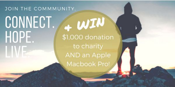 End Date: 12/31/2017, Eligibility: US/CAN/WW Join to #WIN $1,000 donation to a charity of your choice AND an Apple MacBook Pro in this #giveaway and get early access to the Ascent App for Mental Health and Addiction Recovery Support.