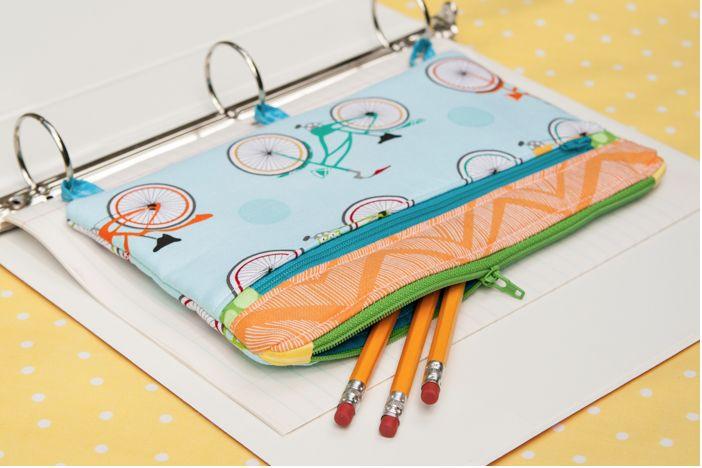 Stiftemappe, sehr praktisch, weil zum Einheften :)