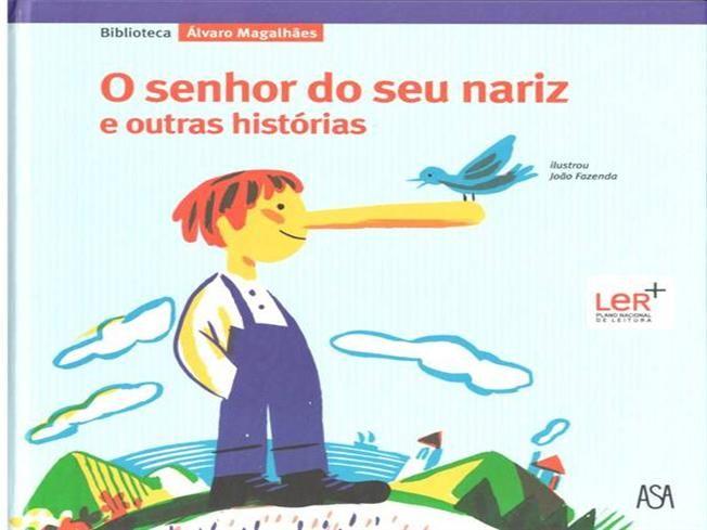 MAGALHÃES, Álvaro - O senhor do seu nariz e outras histórias by Paulo70 via authorSTREAM