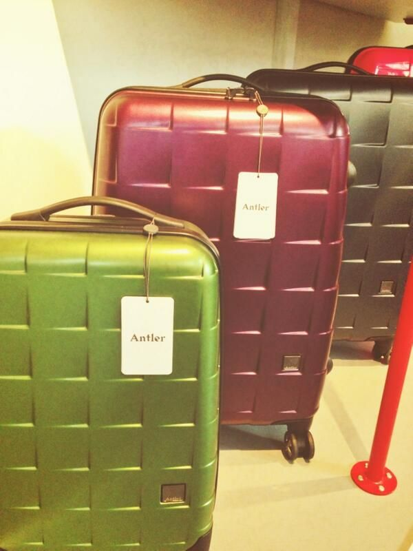 Compiling our lust list at @Antler Luggage #antlerrelaunch where luggage and fashion meet