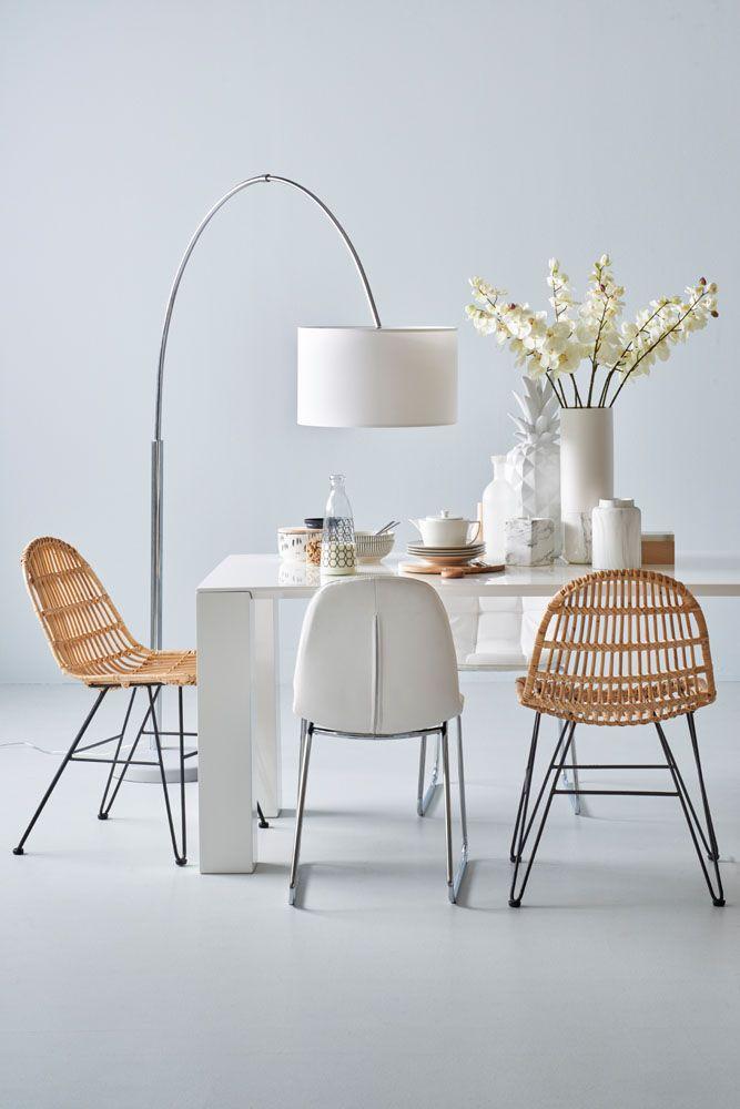 Woonexpress   Wondermooi wit   Moderne woonstijl   Alles voor je eetkamer