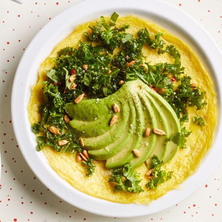 Avocado & Kale Omelet