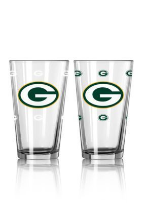 Boelter  16-Oz. Nfl Packers 2-Pack Color Change Pint Glass Set - Licensed Team Colors - One Size
