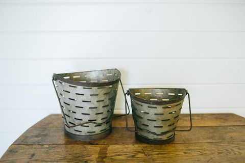 Metal Olive Bucket | The Magnolia Market