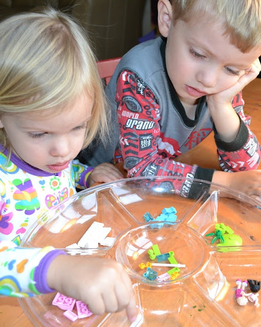 Tips for starting Lego kits with preschoolers
