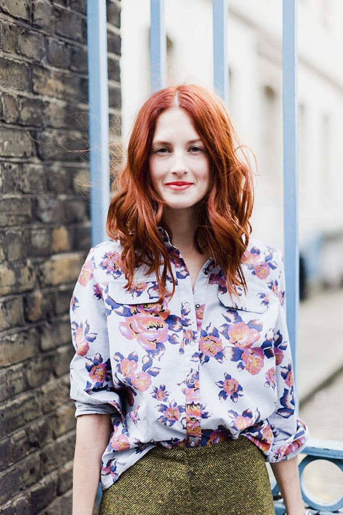 tth: Taylor Tomasi, Floral Prints, Hair Colors, Taylors Tomasi, Red Hair, Tomasi Hills, Street Style, Redhair, Red Head