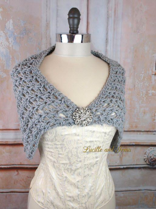 Free Crochet Pattern Bridal Shawl Pakbit For