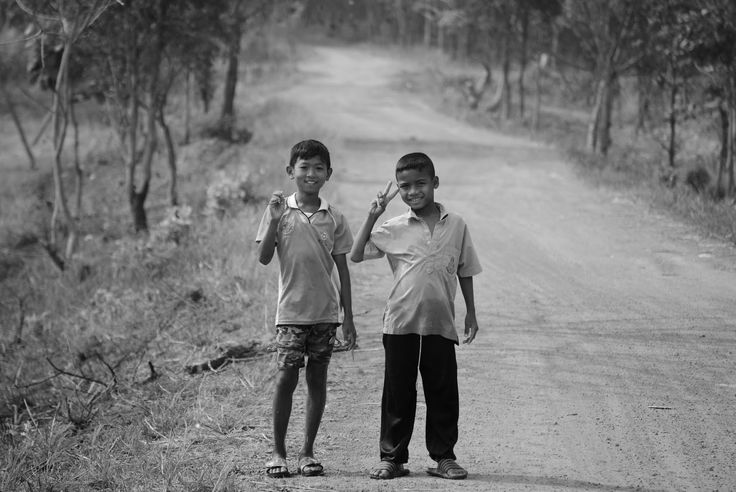 Roadside in Isaan northeast Thailand.
