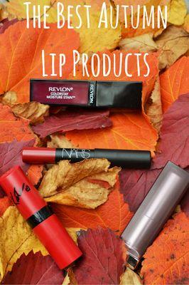 Makeup By Meggy: The Best Autumn Lip Products