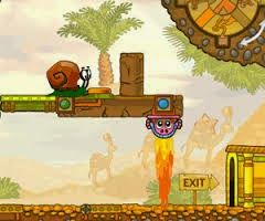 Snail Bob 6: Winter Story: Help the snail to overcome obstacles...Aidez l'escargot à franchir les obstacles