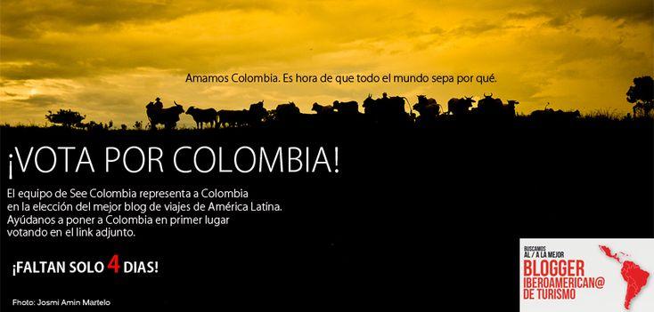 Vota por Colombia!!