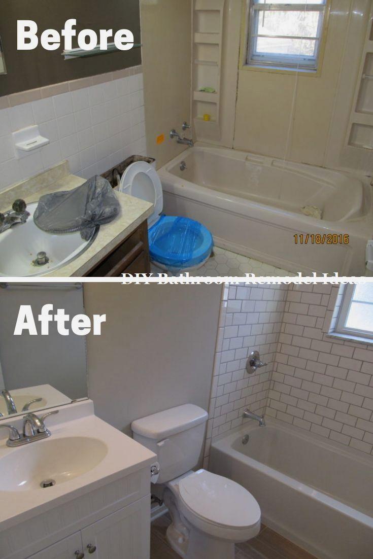 Great Easy Diy Bathroom Remodeling Makeover Bathroomremodel