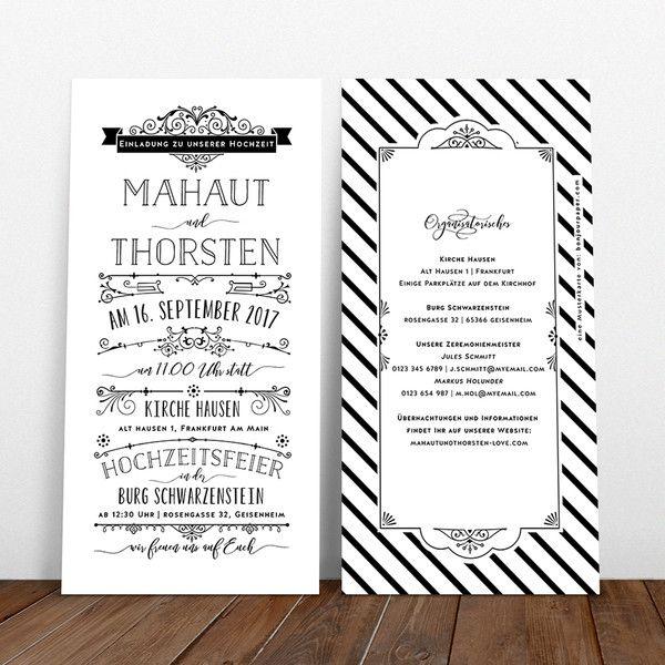 17 best images about hochzeitseinladung on pinterest destination wedding invitations. Black Bedroom Furniture Sets. Home Design Ideas