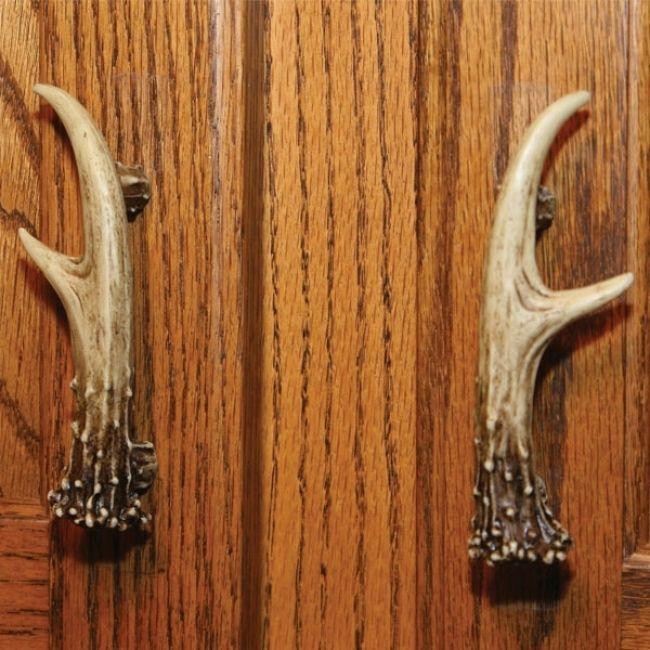 Cabinet Handle - 2 PK ANTLERFor $7.99