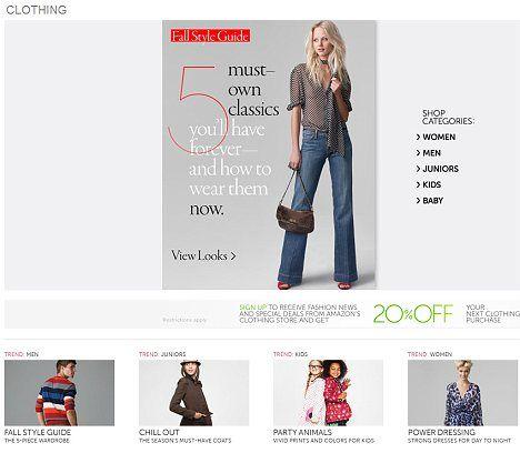 amazon fashion outlet