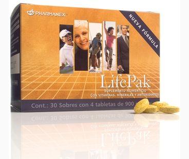 LifePak. LifePak es un suplemento alimenticio formulado para aportar micronutrientes y antioxidantes.