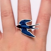 Funky Swallow Ring