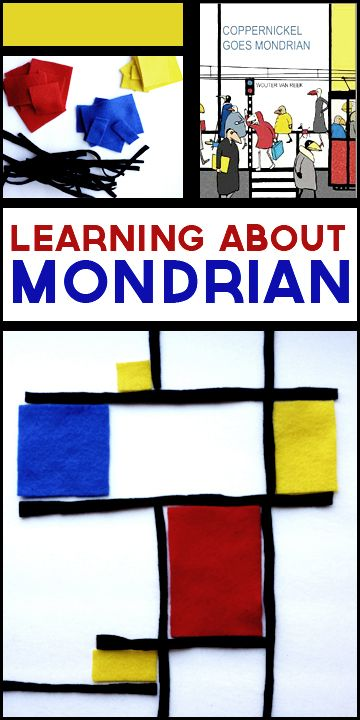 Mondrian art projects for kids. Introduce children to art history with these fun and educational activities.