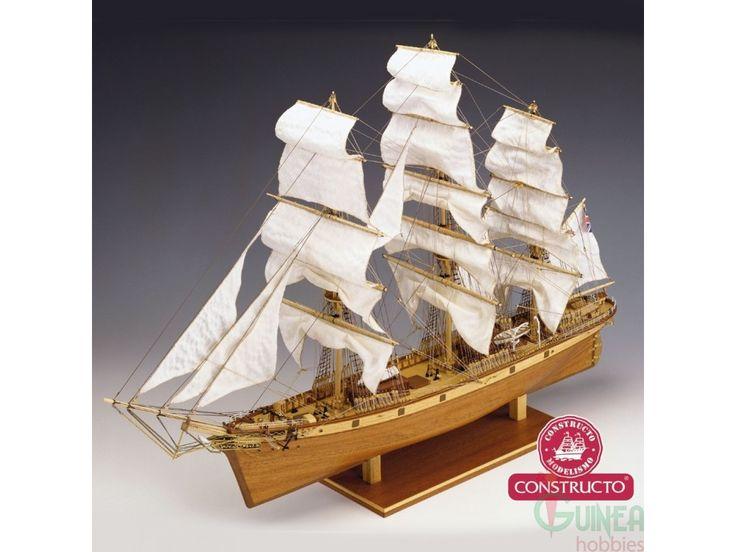 Constructo 80838. CUTTY SARK 1869. Kit maqueta barco de madera para construir