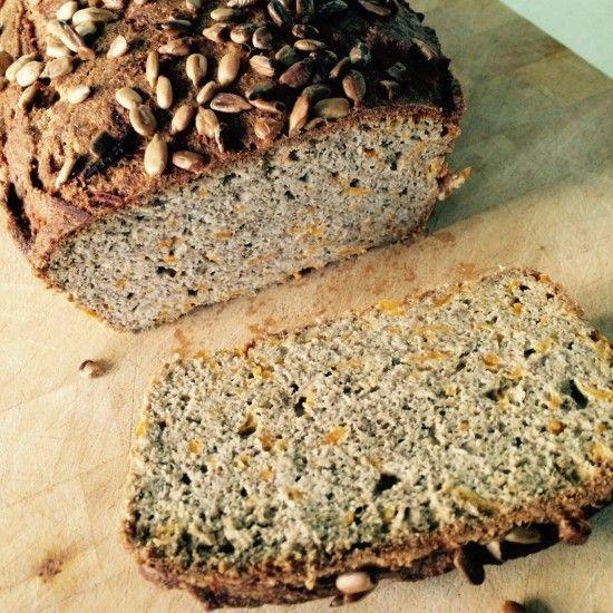 Gluten free sweet potato bread  Gluten free. Dairy free. Healthy bread.