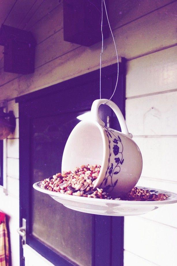 Super leuk en sfeervol voor de vogels in herfst en winter! Heel eenvoudig te maken, de how-to vindt je op de blog van TS24!