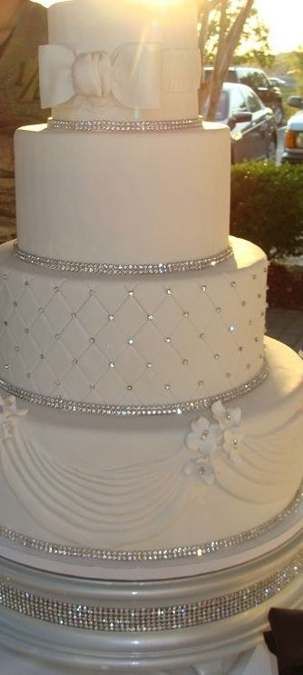 WEDDING CAKE!! No, it isn't a dress, but it was just too pretty to pass  up!!  http://www.balladracelets.com... #bracelets#bangles#stylich#accessory#fashion#chic#trendy#stylish#sexy #bangles #highheels#jewelry#unique#beautiful#different#pretty#nice#arm#candy