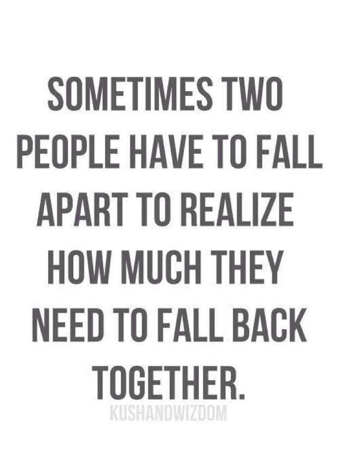 Love. Break up. Couples. Quotes.