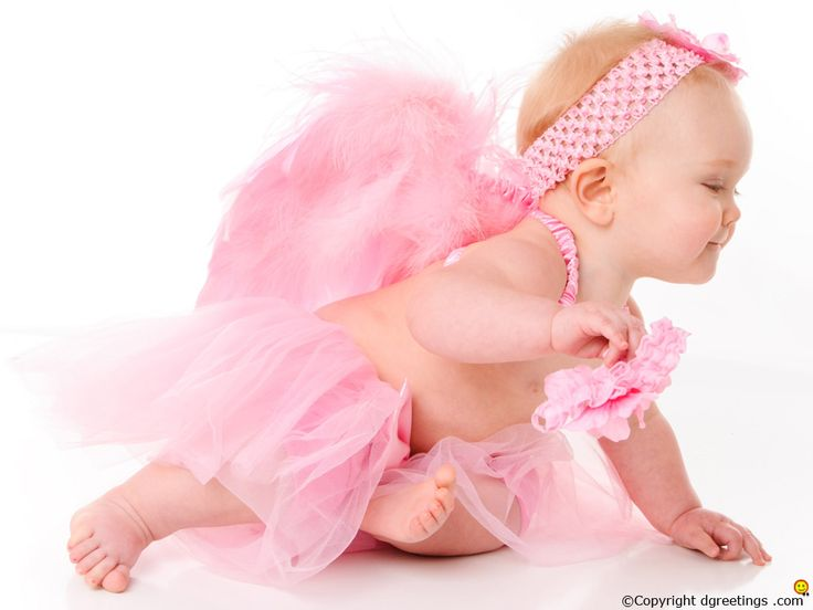 A cute little angel on your desktop can always brighten up your mood.