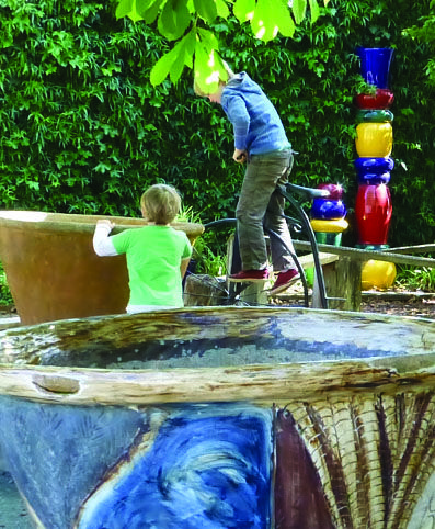 Children's Play area at The Pottery