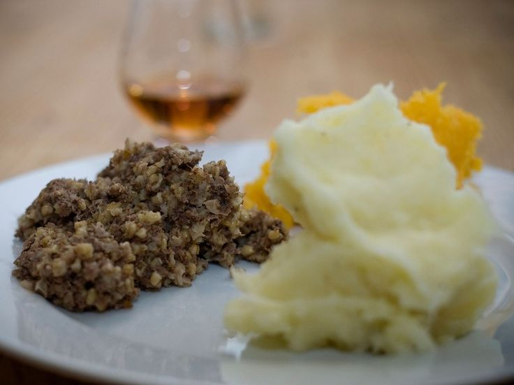 Even more significant than Scotland's official national day (St. Andrew's Day, November 30) is Burns Night. On January 25, Scots honor their national poet, Robert Burns, with a traditional Burns Supper. The night begins with a recitation of the Selkirk Grace, a prayer attributed to Burns, and then comes the haggis—an intimidating mix sheep's heart, liver, and lungs, minced with oatmeal and spices and traditionally encased in the animal's stomach. The night ends with toasts of (what else?)…