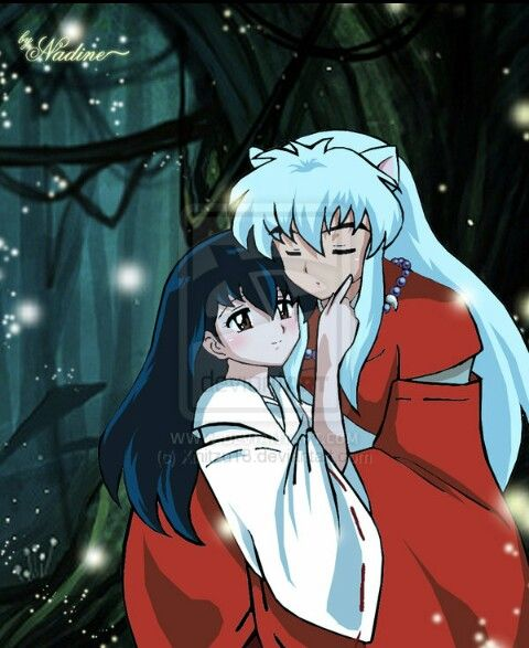 Kagome and yoshi having sex like you