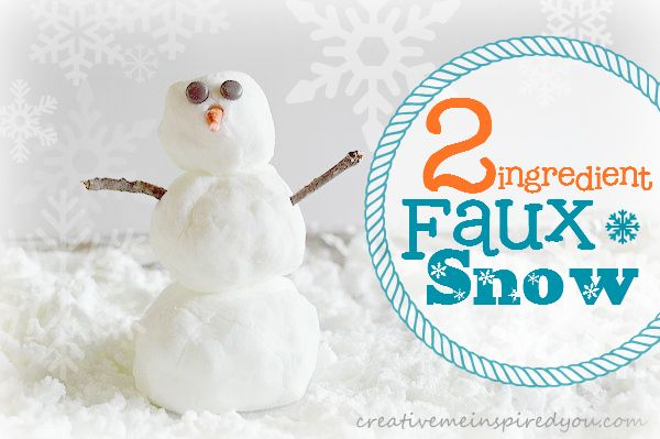 17 best images about christmas crafts on pinterest for Fake snow recipe for crafts