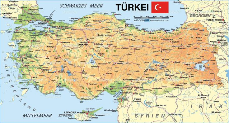 map of turkey tourist attractions - Google Search