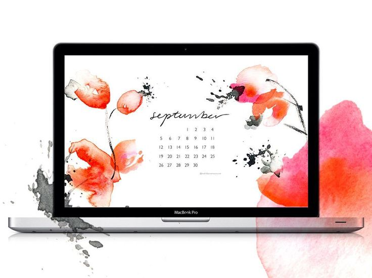 Sign up on my newsletter and get a free desktop calendar every month! 👆🏼 #September #newsletter