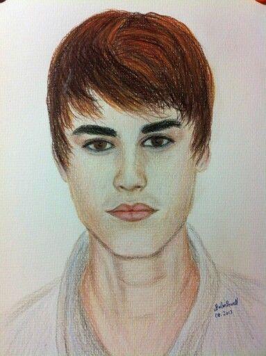 JB.  Polychromo pencil drawing
