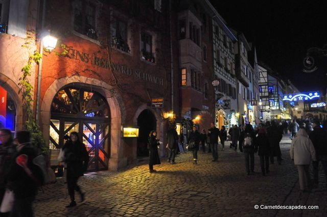 #Noël en #Alsace - Marché de Noël de #Riquewihr
