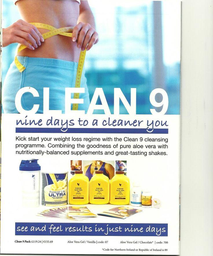 Clean 9 detox combo
