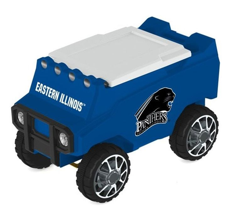 Let the fun begin with your remote control Eastern Illinois Panthers Cooler. Holds 30 cans plus ice. Officially licensed by the NCAA. Free shipping. Visit sportsfansplus.com for details.