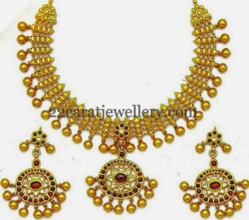 Gold Necklaces from MB Jewelry | Jewellery Designs