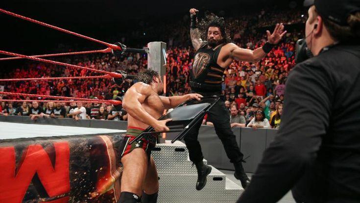 WWE: Rusev vs. Roman Reigns